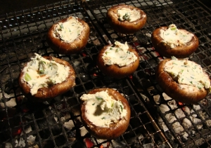 Mushrooms-on-the-grill